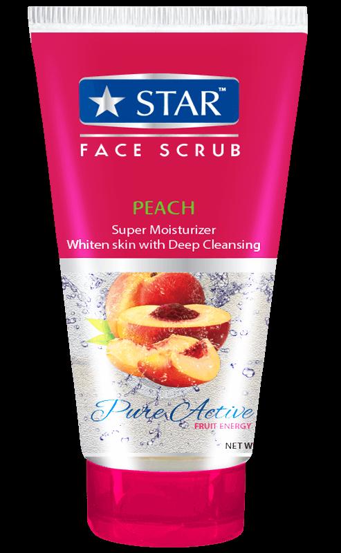 Peach Scrub