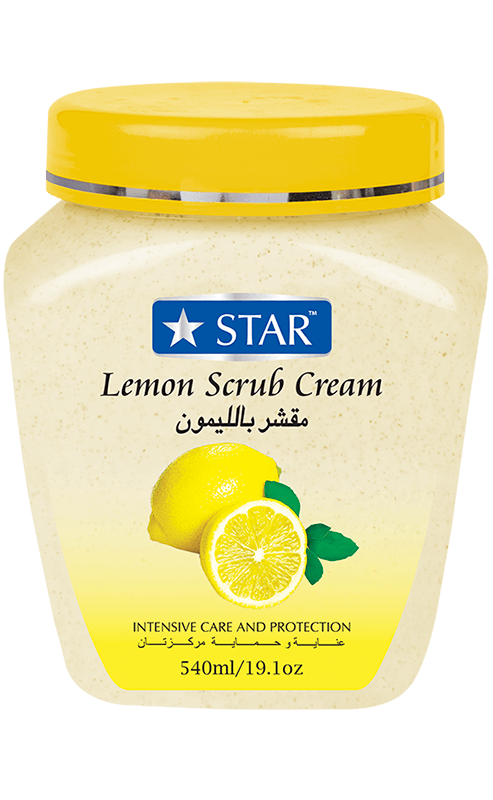 Lemon Scrub Cream