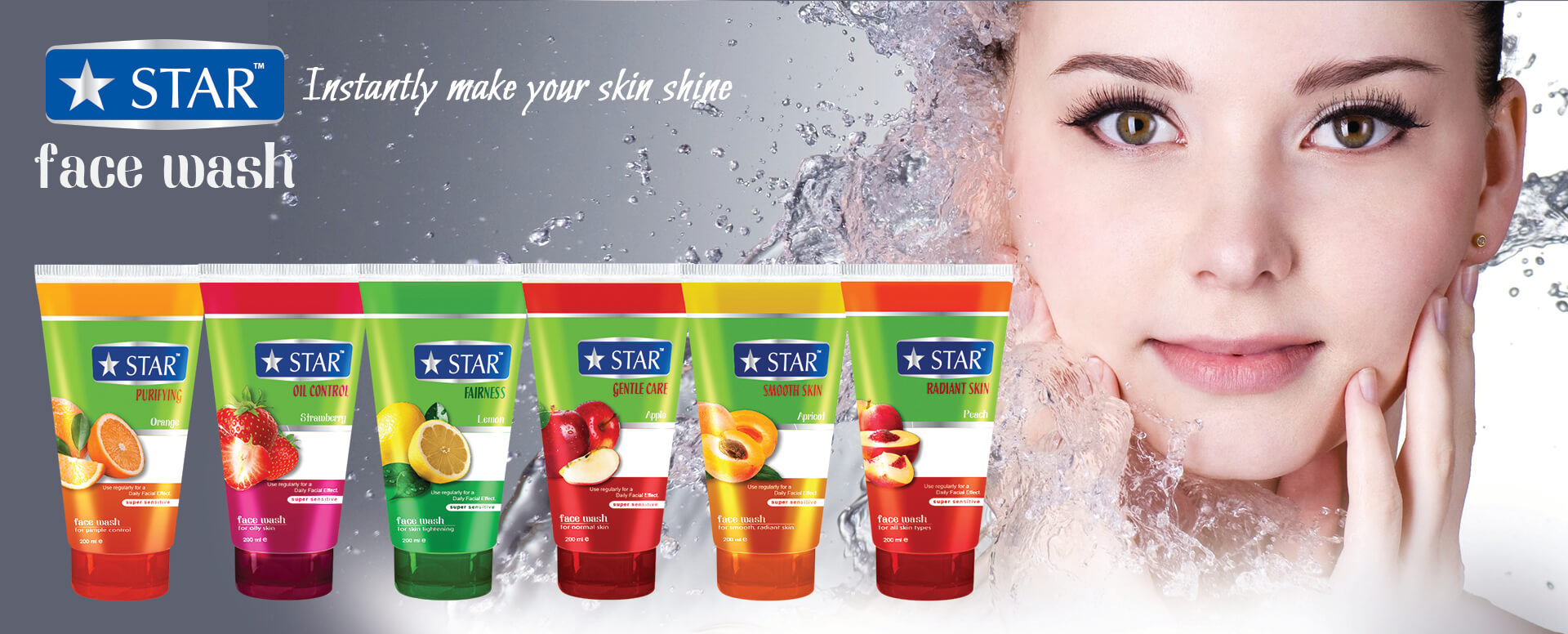 Star Face Wash BANNER