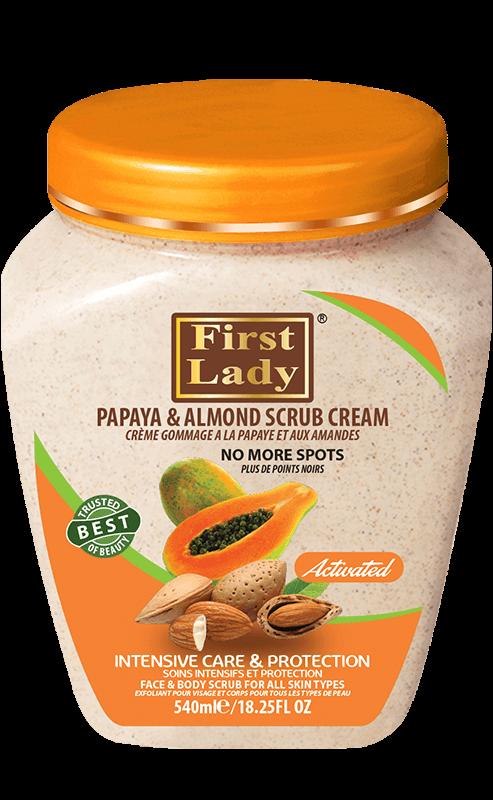 Papaya & Almond Scrub