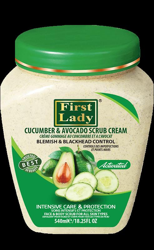 Cucumber & Avocado Scrub